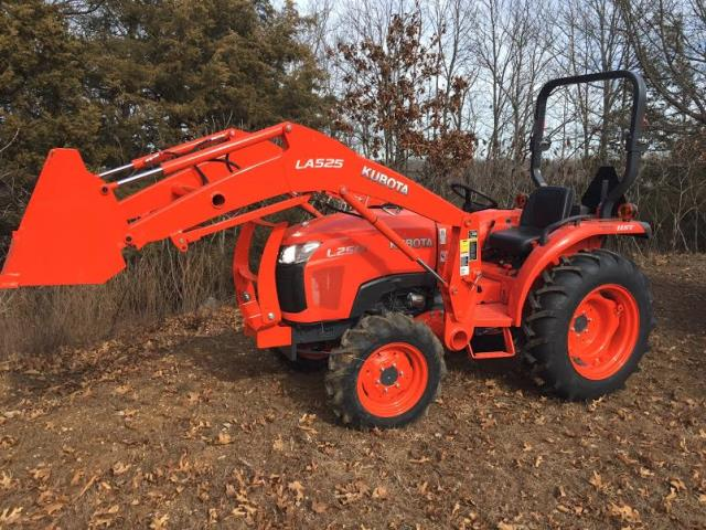 Where to find TRACTOR, KUBOTA 25 HP in Plainview